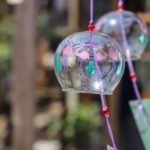 奈良おふさ観音風鈴まつり フラミンゴ柄の風鈴