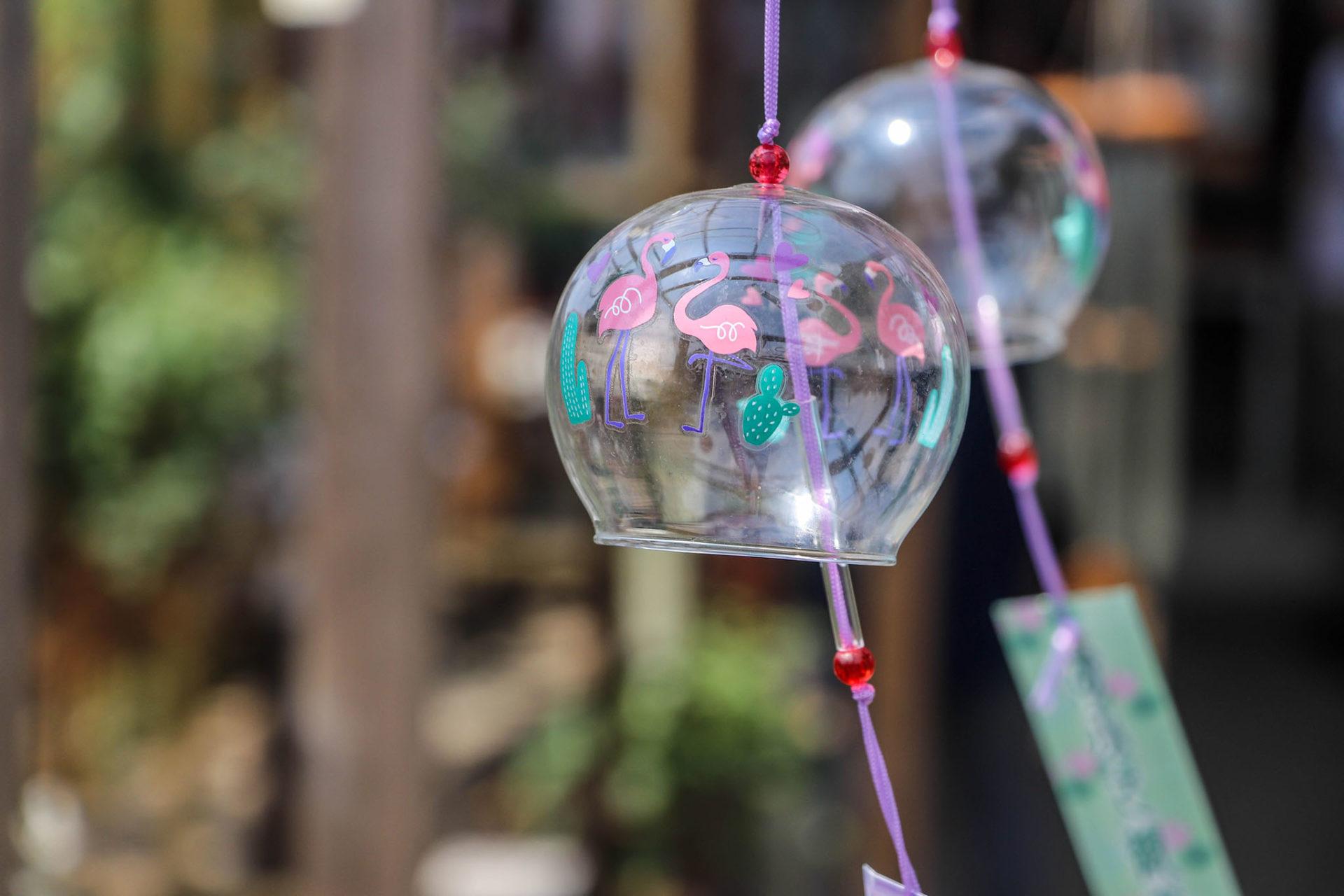 奈良おふさ観音風鈴祭り