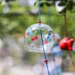 奈良おふさ観音風鈴祭り 金魚柄の風鈴
