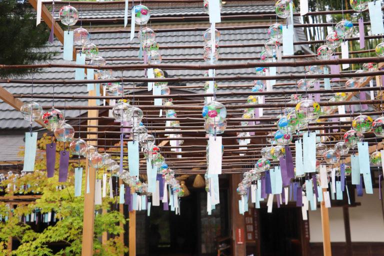 京都 宇治 正寿院 風鈴まつり