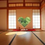 京都正寿院 ハート 猪目窓 2