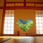 京都正寿院 ハート 猪目窓 3