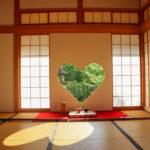 京都正寿院 ハート 猪目窓 4