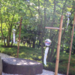 京都 宇治 正寿院 庭の風鈴 2