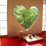 京都正寿院 ハート 猪目窓 5