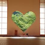 京都正寿院 ハート 猪目窓 7