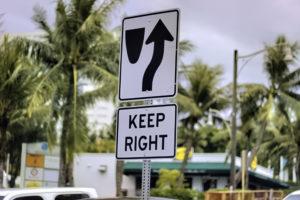 アメリカの道路標識
