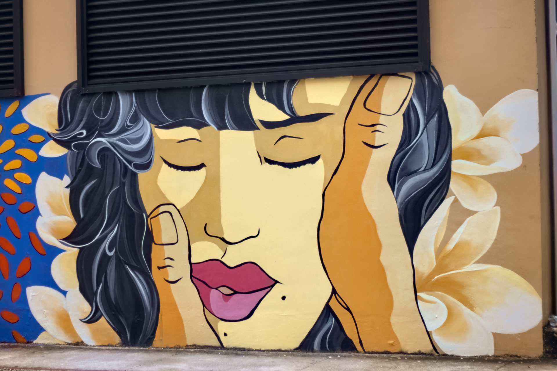 グアムの壁画