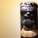 木彫りのトーテムポール