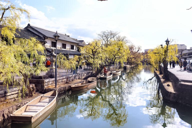 倉敷美観地区 船と船頭さん