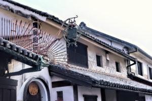 倉敷美観地区の建物と風景
