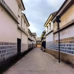 倉敷美観地区 白壁の路地