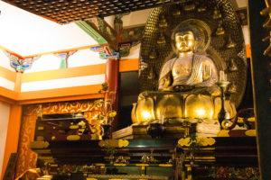 清水寺の阿弥陀如来坐像