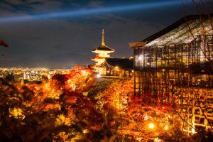 京都清水寺 三重塔