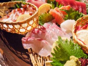 新鮮なお魚 刺身の盛合せ