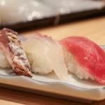 まぐろ・鯛・かつおの握り寿司