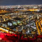コスモタワー展望台からの大阪平野一面の夜景