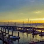 北港マリーナに停泊するヨット